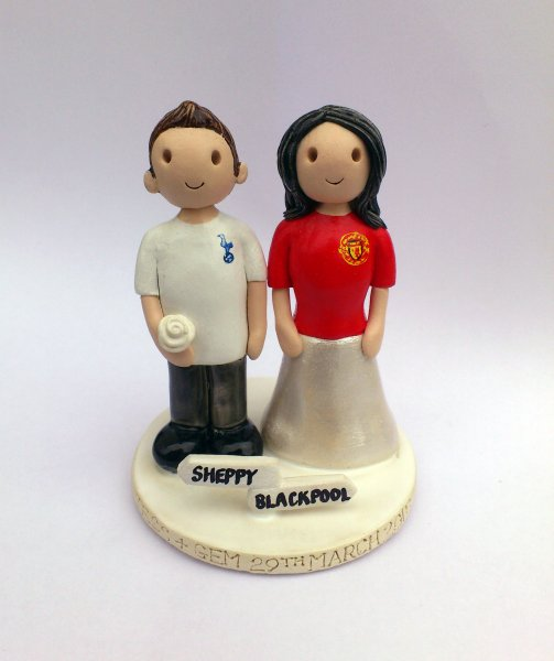 Football Shirt Cake Topper