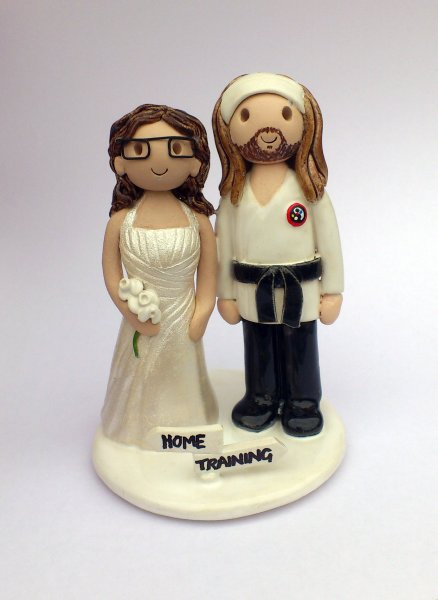 Martial Arts Cake Topper