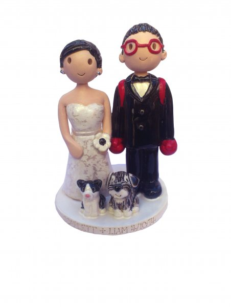 Comedy Cake Toppers