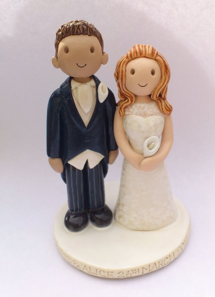 Traditional Cake Topper