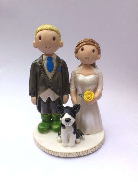 Welly Boot Cake Topper