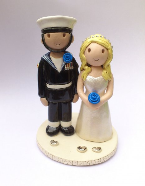 Sailor Cake Topper