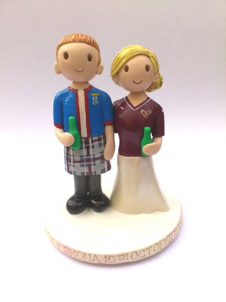 Beer Bottle Cake Topper