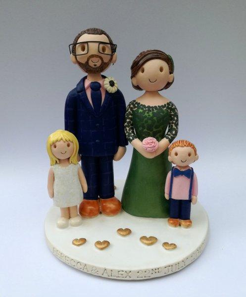 Family Cake Topper