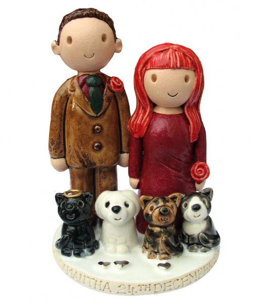 Christmas Wedding Topper