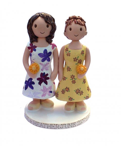 Civil Partnership Wedding Topper