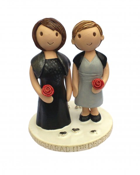 Civil Partnership Personalised Topper