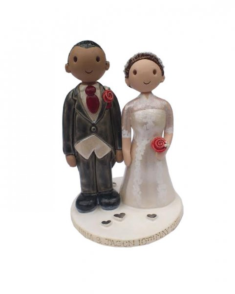 Rugby Cake Topper