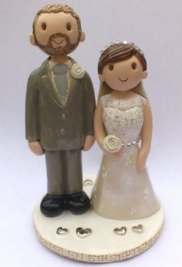 Pottery Wedding Topper