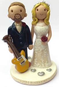 Guitar Cake Topper