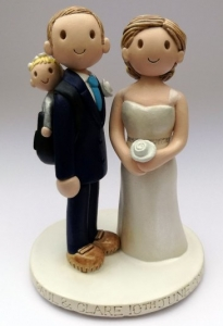 Hiking Cake Topper