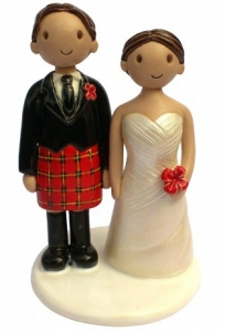 Scottish Wedding Topper