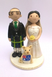 Australian Wedding Topper