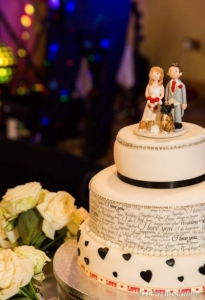 Word Wedding Cake