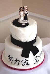 Karate Cake Topper