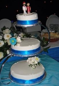 Sari Cake Topper