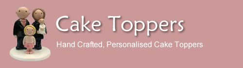 Cake Toppers - Personalised, Hand Crafted Cake Toppers