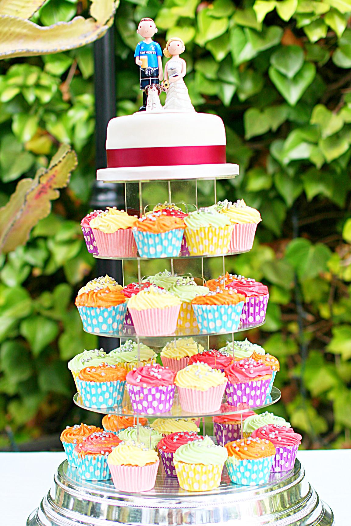 Cupcake Wedding Cake Wedding Cake Toppers