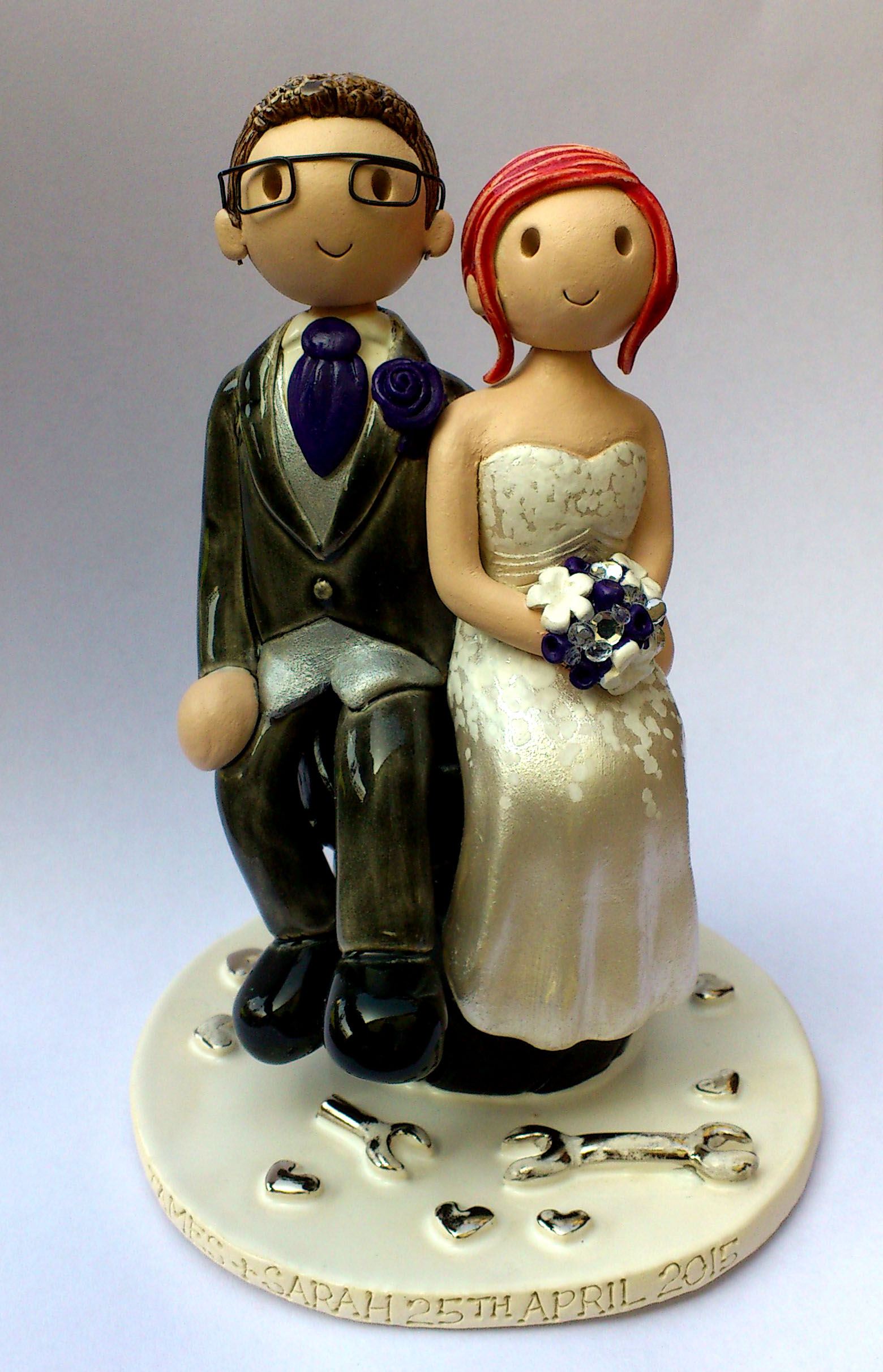 October 2015 Wedding Cake Toppers